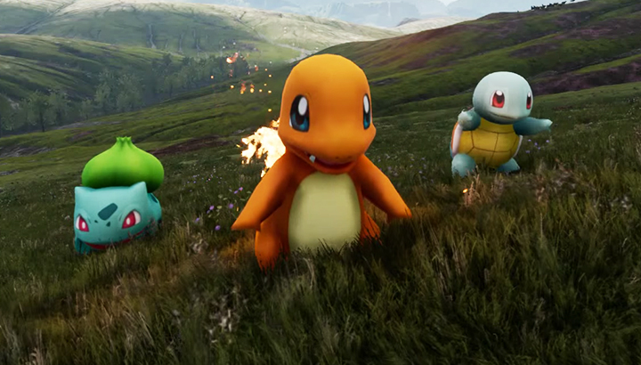 Pokemon Unreal Engine 4