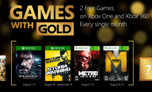 Games With Gold Ago