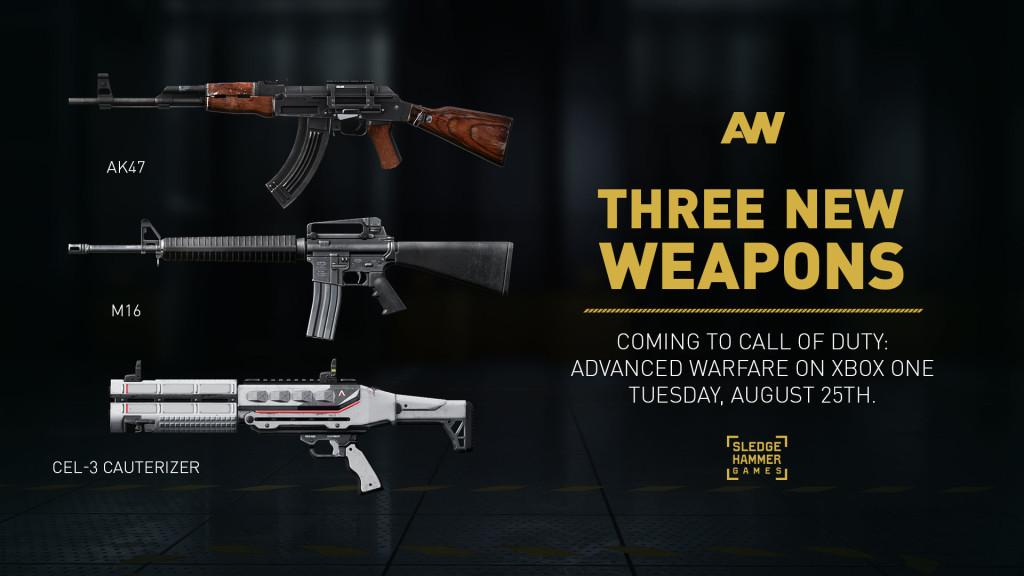 Advanced Warfare Armas