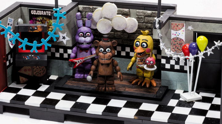 Five Night At Freddy S Building Sets
