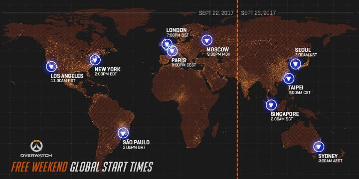Ahí viene otro fin de semana gratuito de Overwatch