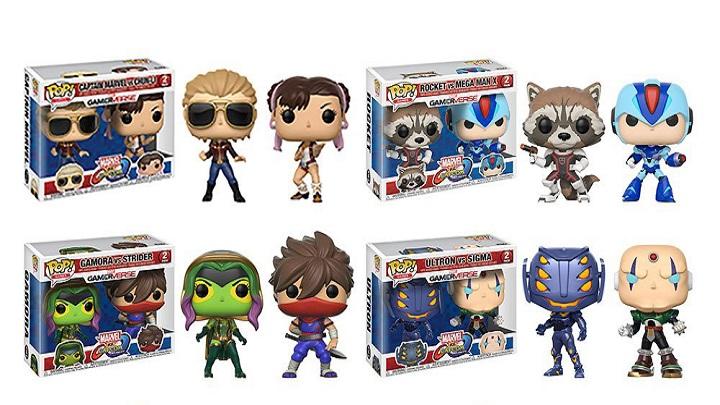 No podrás resistirte a estos Funko Pop! de Marvel vs Capcom infinite