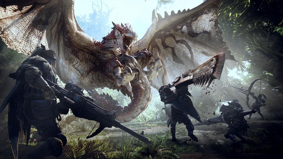 World anuncia su llegada a PC en otoño — Monster Hunter