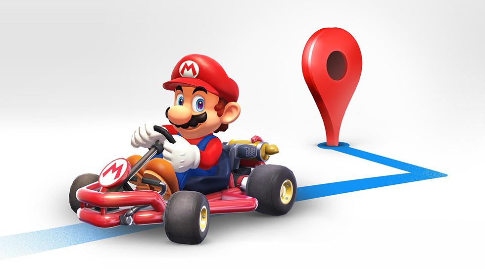 Mario será tu chofer personal en esta actualización de Google Maps