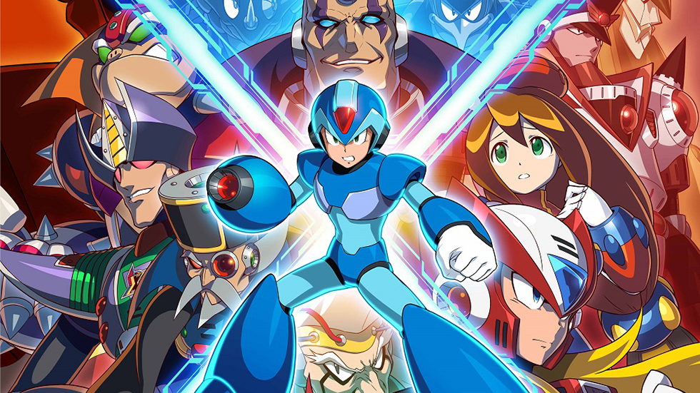 Mega Man X Legacy Collection 1 & 2 llegarán a América en julio