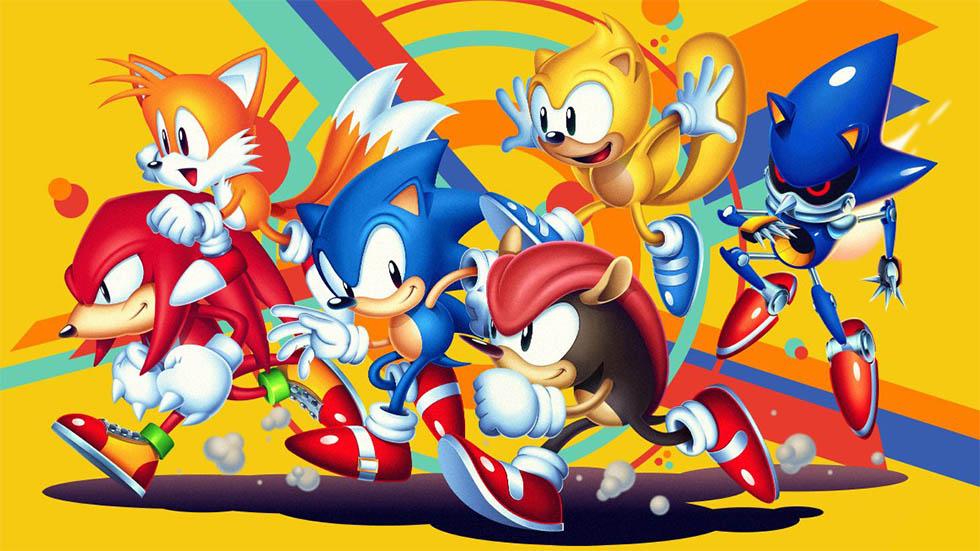 Sonic Mania Plus llegará a mediados de julio