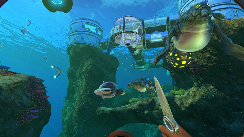 Subnautica en PlayStation 4