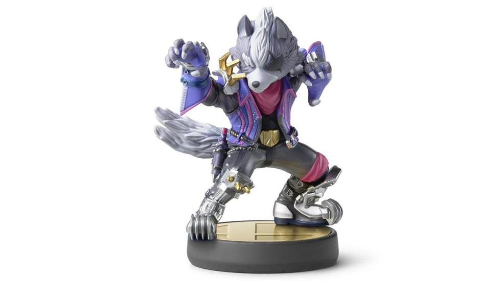 Amiibo de Wolf