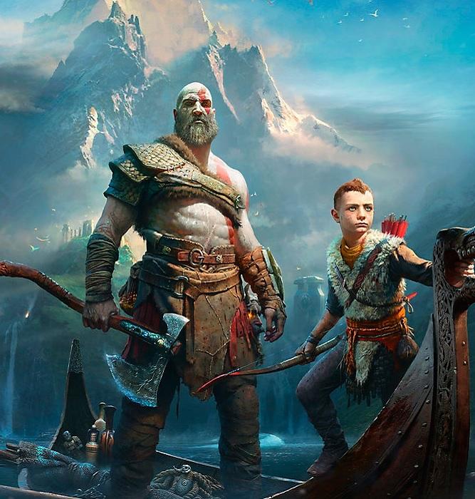 Kratos y Atreus