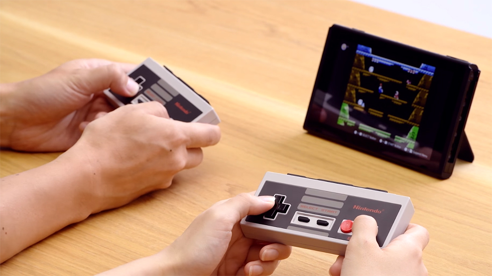 Controles NES