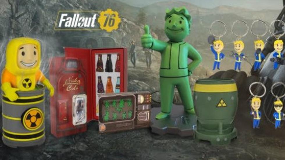 Fallout 76 figuras coleción