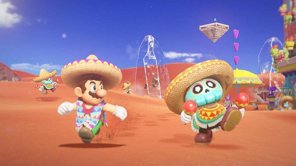Super Mario Odyssey - Tostarena
