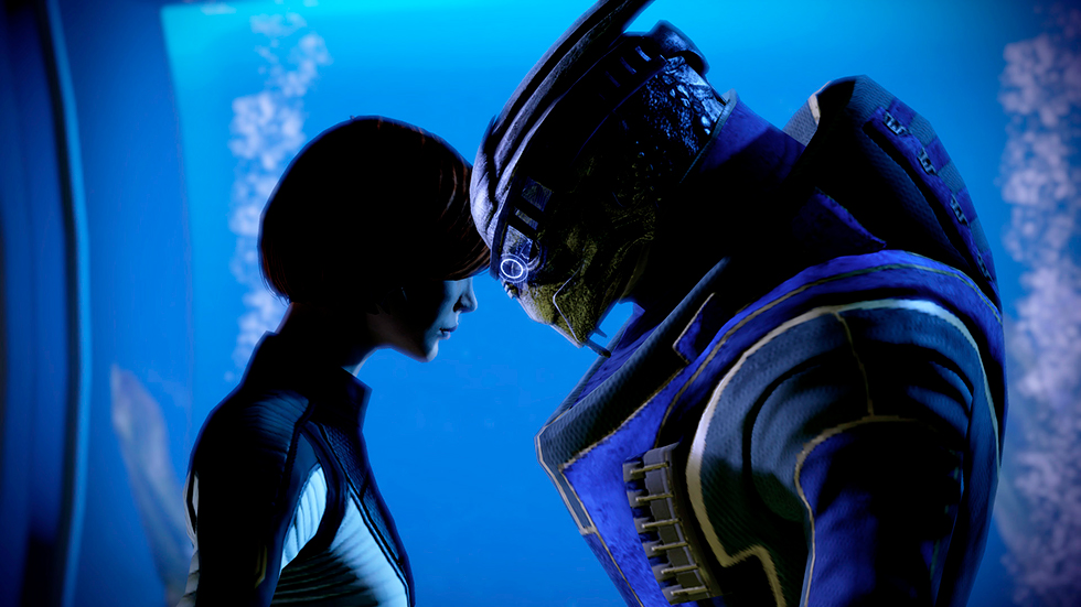 Commander Shepard & Garrus Vakarian