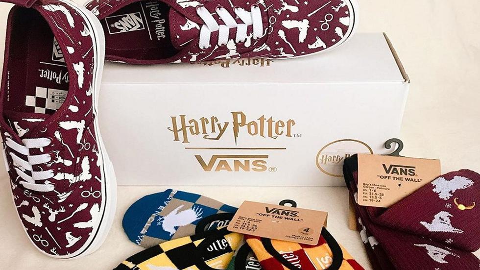 vans zapatos harry potter