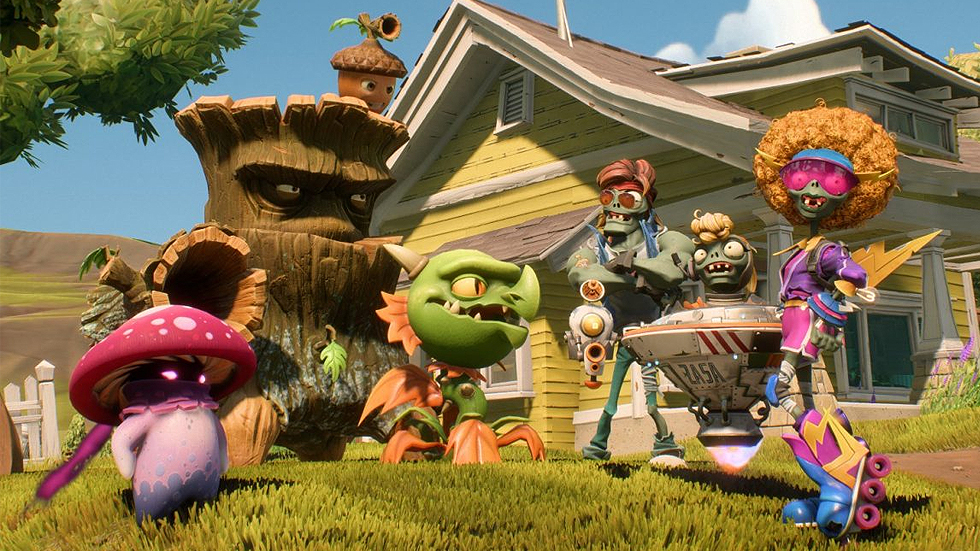 EA lanza Plants vs Zombies: La Batalla de Neighborville