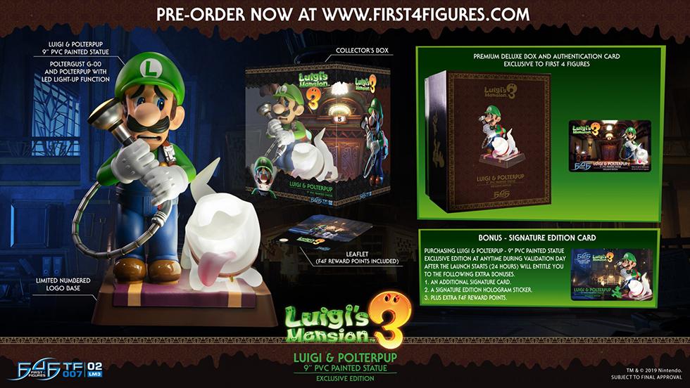 Luigis Mansion 3 figura