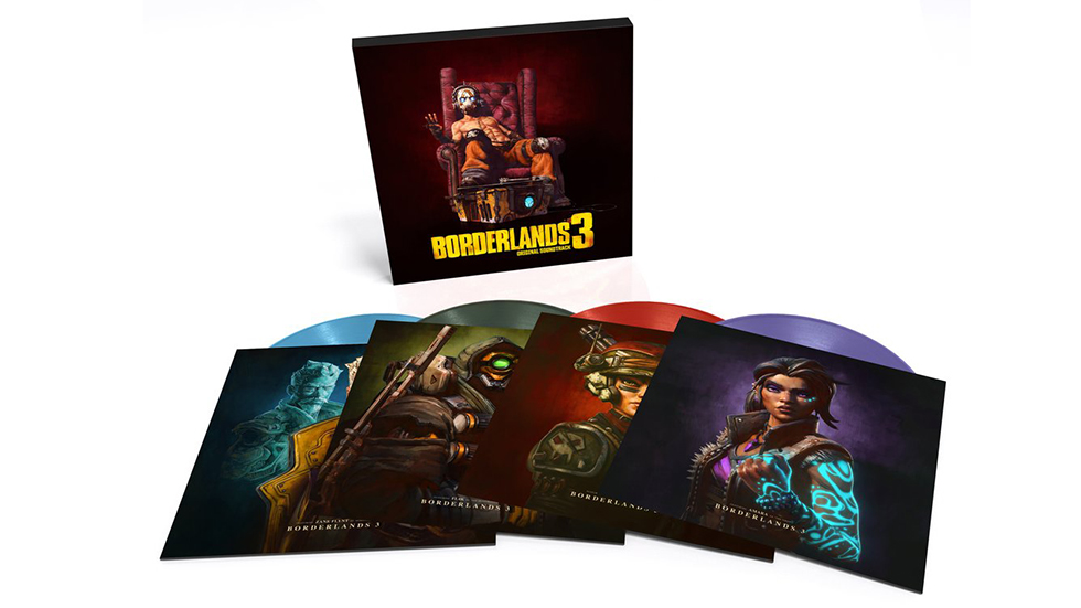 Soundtrack Borderlands 3 vinilo