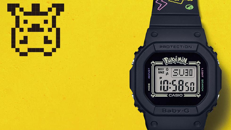 Casio y Pokémon colaboran para lanzar un reloj edición