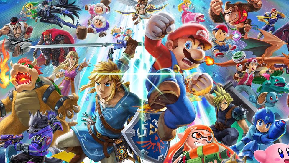 Super Smash Bros Ultimate mas vendido