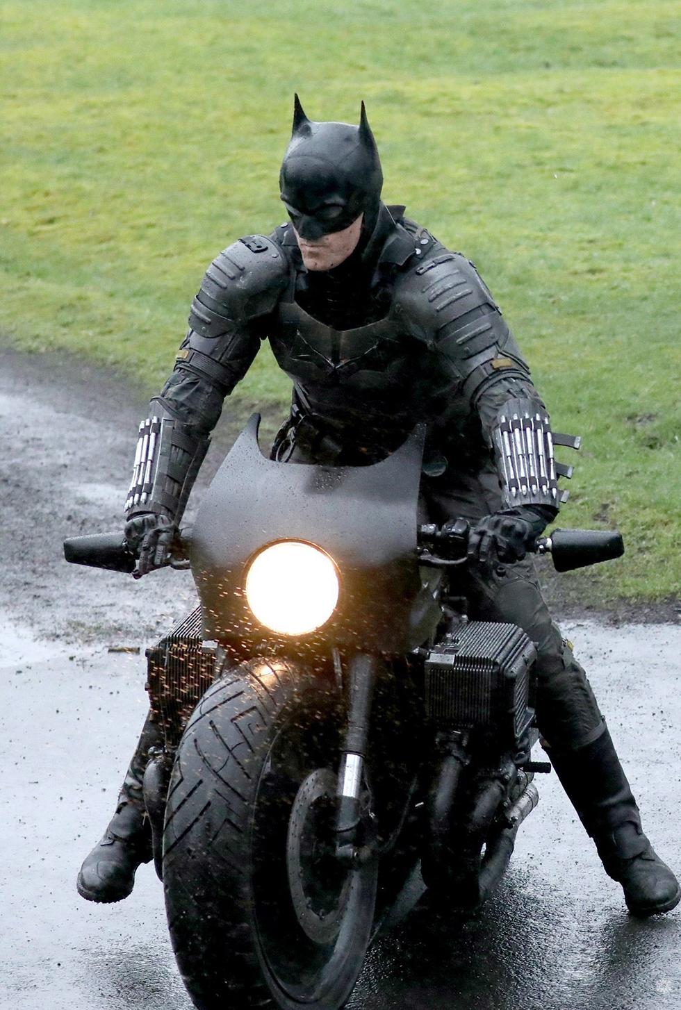 The Batman filmación imágenes