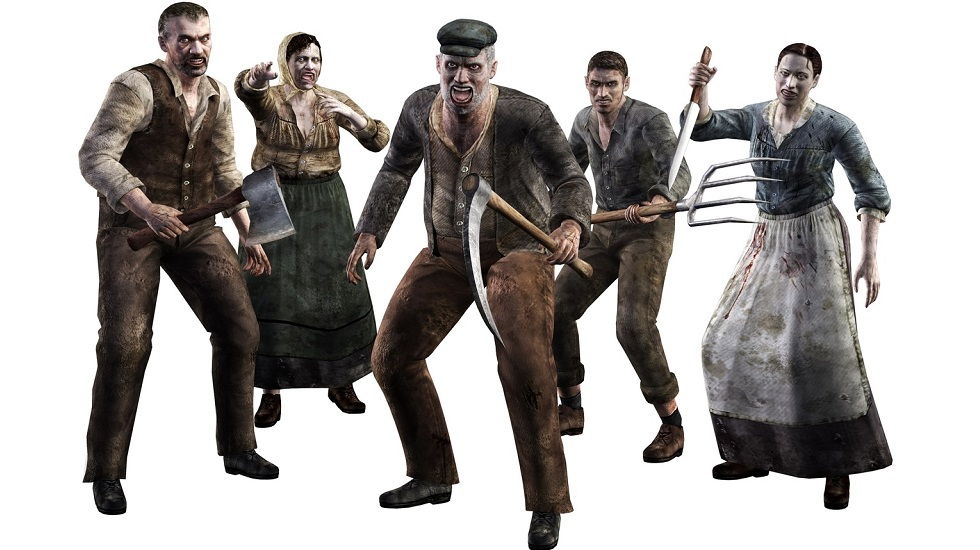 Resident Evil 4 Ganados